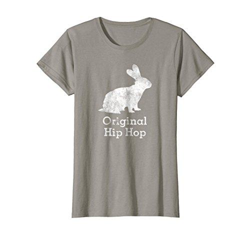 Womens Vintage Bunny Rabbit Original Hip Hop Shirt Small Slate by Old School Hip Hop Shirts