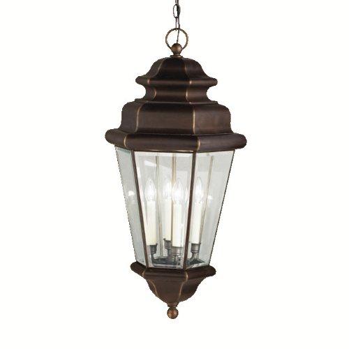 ates Outdoor Pendant Light 9831OZ Olde Bronze ()