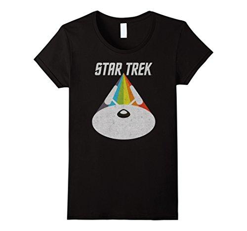 Womens Star Trek USS Enterprise Warp Drive T-Shirt XL (Shirt Colors Star Trek)