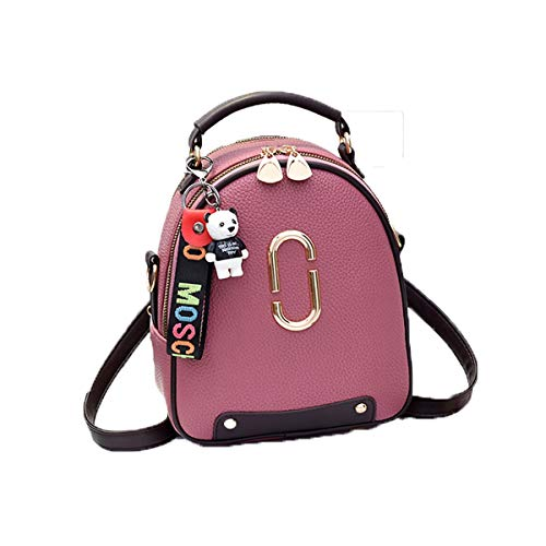 f784c1acb7de Huijunwenti The Girl's Versatile Backpack is Perfect for Everyday Travel,  Outdoor, Travel, School, Work, Fashion and Leisure. Six Colors, Mini Cute.  ...