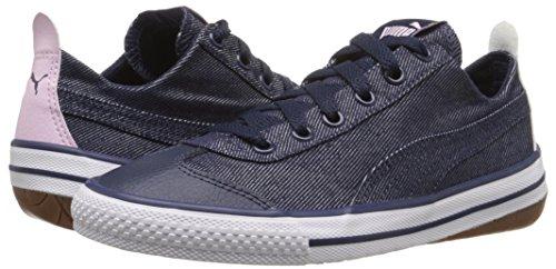 PUMA 917 Fun Denim Kids Sneaker (Little Kid/Big Kid), Peacoat/Lilac Snow/Patent/Lavender, 5.5 M US Big Kid by PUMA (Image #6)