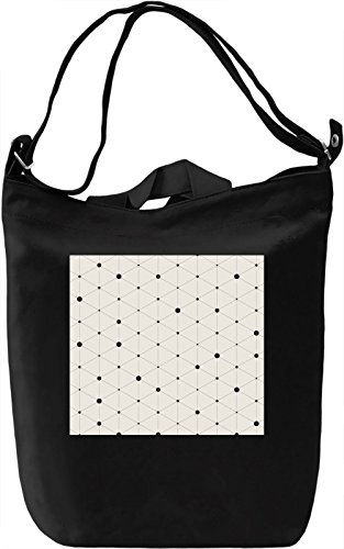 Bubbles Pattern Borsa Giornaliera Canvas Canvas Day Bag| 100% Premium Cotton Canvas| DTG Printing|