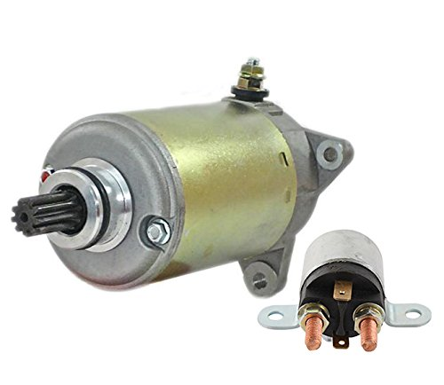 NEW STARTER AND RELAY FIT CAN AM OUTLANDER MAX 1000 800R 420684562 4280003580 -
