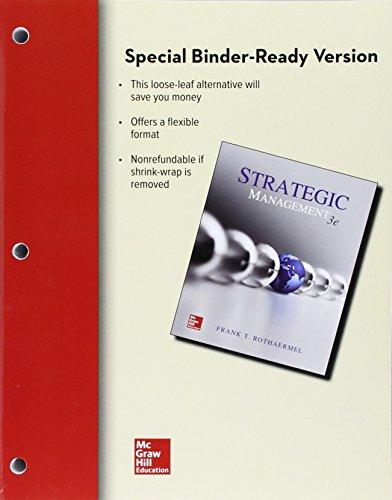 Loose-Leaf for Strategic Management