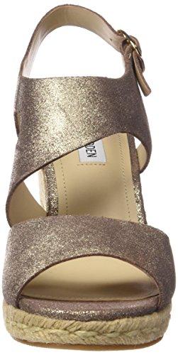 Steve Madden wavi - Sandalias de vestir para mujer dusty gold