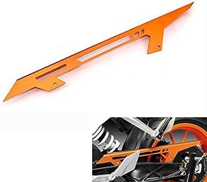 JFG Racing CNC Color Negro Protector de Cadena de Aluminio para K.T.M 125 200 390 Duke 11-16 RC 125 200 390 14-16