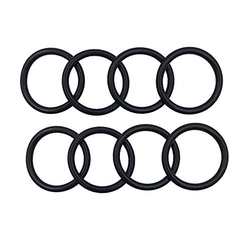 DSparts Pack of 8 O-Rings Bumper Fender Quick Release Fasteners Replacement Rubber Bands O-Rings