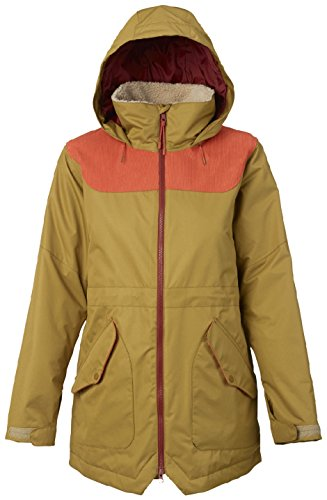 Burton Women's Prowess Jacket, Plantation/Persimmon, - Plantation Women