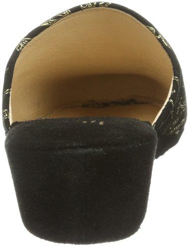 Talla Hans Cuero Collection Mujer De Negro schwarz 10 030699 36 Casa Hhc Negro schwarz Herrmann Para Zapatillas Color qq5pOfn