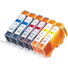 6 Pack Compatible Canon CLI 221 , CLI-221 , CLI221 2 Cyan, 2 Magenta, 2 Yellow for use with Canon PIXMA Ip3600, PIXMA Ip4600, PIXMA Ip4700, PIXMA MX860, PIXMA MX870. PIXMA Ip 3600, PIXMA Ip 4600, PIXMA Ip 4700, PIXMA MX 860, PIXMA MX 870.. Ink Cartridges for inkjet printers. © Blake Printing Supply