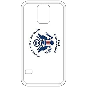U.S. Coast Guard Flag White Samsung Galaxy S5 Cell Phone Case - Cover