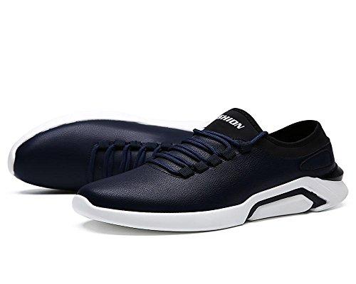En Résistant Nanydx Automne Hommes L'usure Hiver Blue Imperméable Cuir Chaussures Courir À Surface Loisirs Et Exercice xq1PFgx