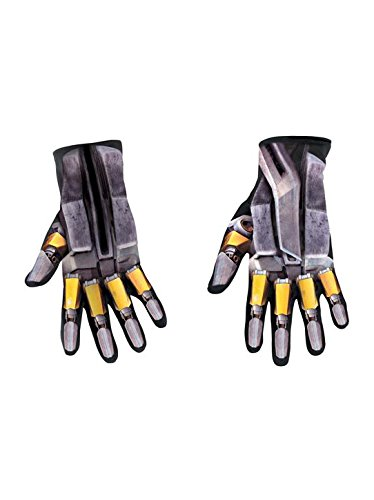 Transformers Bumblebee Child Gloves Size One -