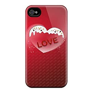 Iphone 4/4s Case Bumper Tpu Skin Cover For Love Sprinkles Accessories by icecream design
