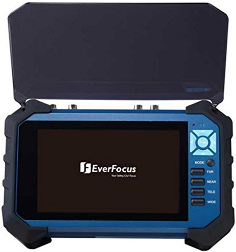 Everfocus EN320 Test Monitor, Supports Ahd, 12VDC power output, Includes Sunshade for Easy Viewing, 7