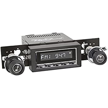RetroSound 73-87 GM Pickup Truck Hermosa Radio Bluetooth Aux In USB