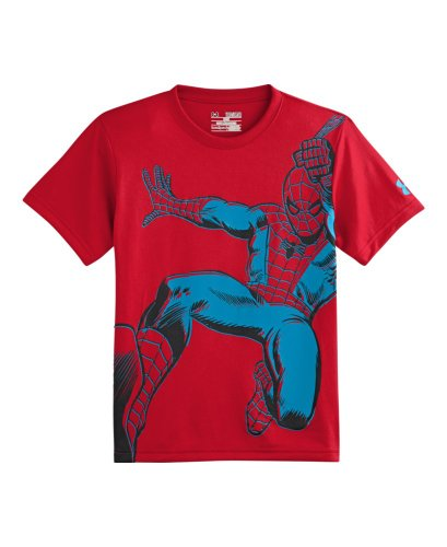 Under Armour Big Boys' Alter Ego Spider-Man Action - Under Armour Shirts Spiderman