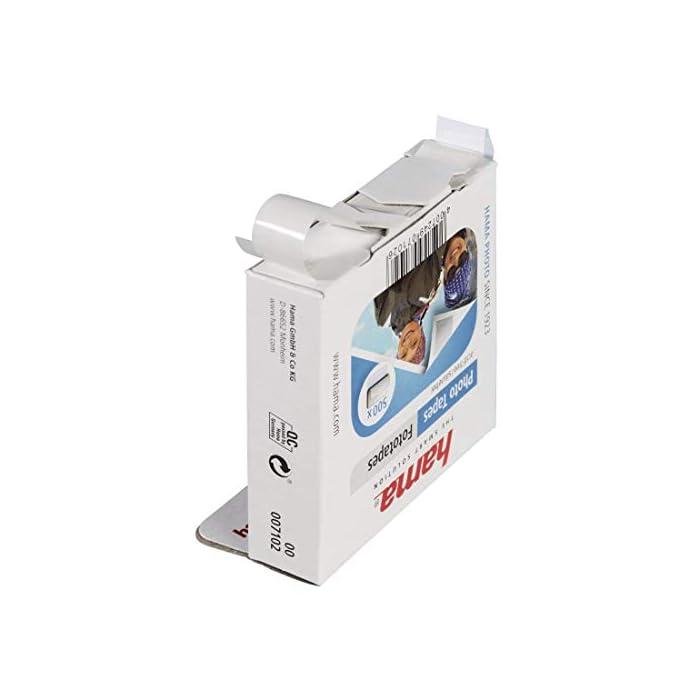 41Tm0VOnYNL Haz clic aquí para comprobar si este producto es compatible con tu modelo 1000 adhesivos para pegar fotos o postales en álbumes: fijación invisible por la parte de atrás Para todo tipo de papel fotográfico: autoadhesivos por las dos caras, no hacen ondas en las páginas ni aumentan el grosor del álbum