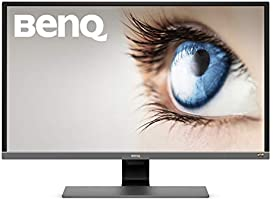 "BenQ EW3270U - Monitor de 32"" UHD, HDR (Eye-Care, 3840 x 2160, Panel VA, LED 4K, 95% DCI-P3, AMD FreeSync, Brightness Intelligence Plus, HDMI 2.0 x 2, DP 1.2, USB-C, Altavoces incorporados)"