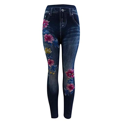Casual Pants,Lowprofile Women Leggings New Skinny High Waist Jeans Trousers Denim Stretchy Pencil Pants -