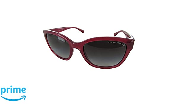 b298993588f6 Amazon.com  Armani Exchange AX4046S Sunglasses 81738G-54 - Ruby Red Milky  Frame