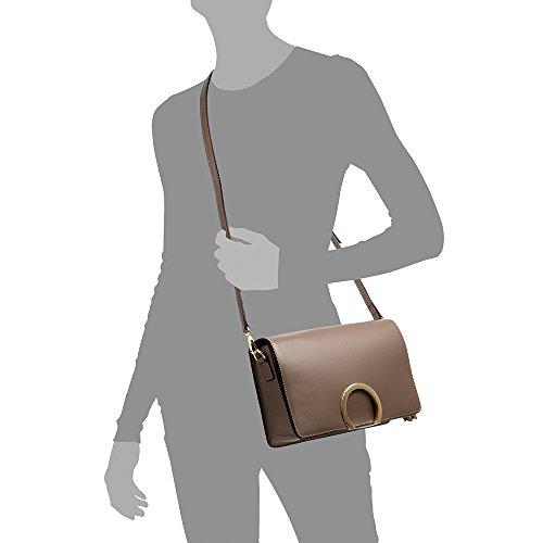 design pelle Sac femme FIRENZE ITALY cuir exclusif cuir Couleur véritable au Vera italiana Sac TAUPE cm Fermeture en Made de Taupe Ruga véritable à main in 5x8 28x17 ARTEGIANI luxe en gIgx8qT