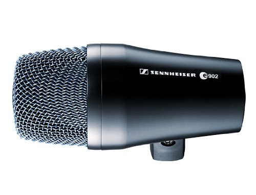 - Sennheiser e902 Cardioid Dynamic Mic for Kick Drum