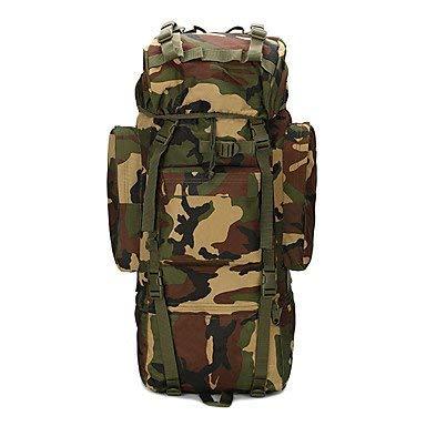 75 Lバックパックリュックサック多機能 B07T1XXS99 jungle camouflage