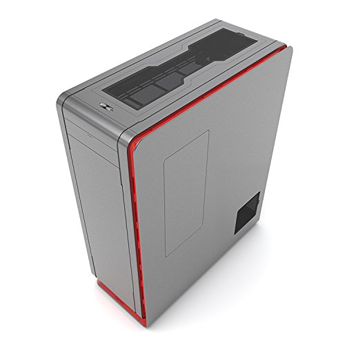 Phanteks Enthoo Elite Extreme Full Tower (PH-ES916E_AG), Aluminum Exterior, Dual System Support and Water-Cooling Case, Anthracite Gray