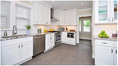 Amazon Com 10x10 Forevermark Ice White Shaker Kitchen Dining