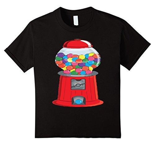 Kids Gumball Machine Bubblegum Halloween Costume T-Shirt 6 (Bubblegum Halloween Costume)