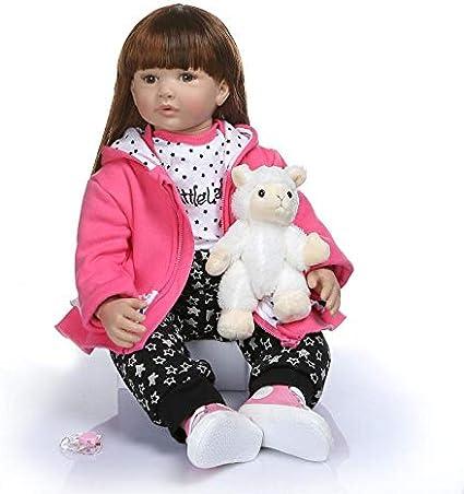 "24/"" Soft Silicone Vinyl Lifelike Toddler Baby Reborn Doll Girl Boy Twins Set"