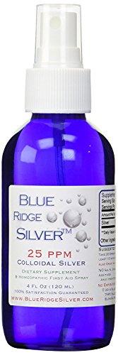 Blue Ridge Silver 25 ppm, 4 oz Fine Mist Colloidal Silver Spray Review