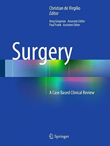 Surgery: A Case Based Clinical - Surgery Board General