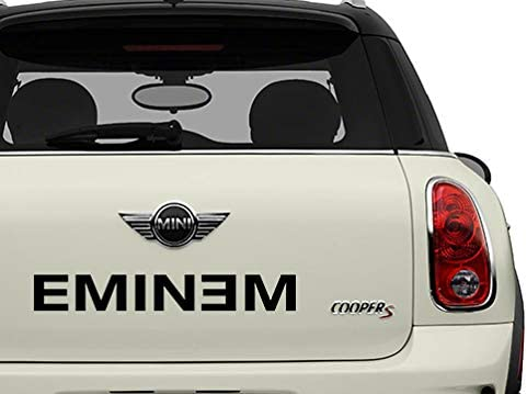 Eminem Black Bands Automotive Decal//Bumper Sticker
