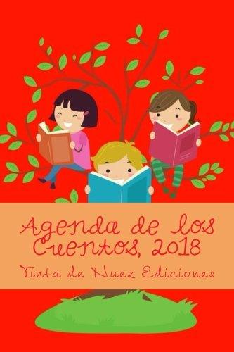 Agenda de los Cuentos, 2018 (Roja, L, blanco y negro ...