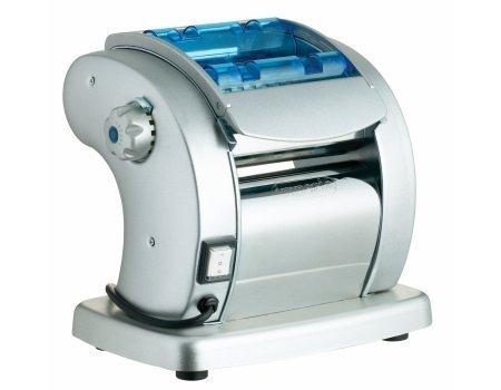 Electric Pasta Maker- Imperia Pasta Presto Non-stick Machine w 2 Cutters and 6 Thickness Settings by CucinaPro