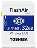 Toshiba FlashAir W-04 32 GB SDHC Class 10 Memory Card
