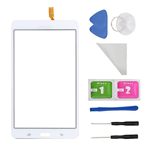 "White Touch Screen Panel Digitizer Glass For Samsung Galaxy Tab 4 SM-T230 T230NU 7"" inch With (Adhesive) and Tool from first choose"