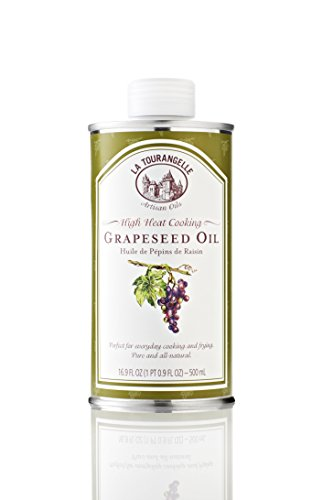 La Tourangelle Grapeseed Oil, 16.9-Ounce Cans (Pack of 3) ()