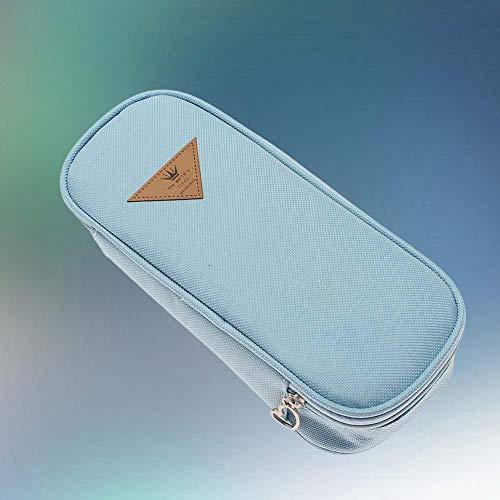 Bag Organza - Stationery Pen Pencil Cases Cosmetic Storage Bags Travel Makeup Brush Box Lb A609 - Holer Bones Halloween Puncher Organza Holeder Punch -