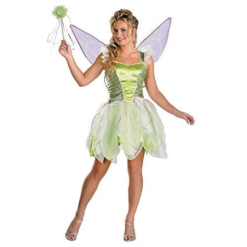 Teen Tinker Bell Costume (Tinker Bell Deluxe Teen/Junior Costume -)
