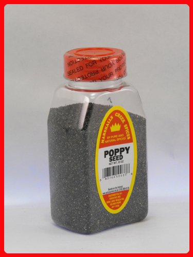 Marshalls Creek Spices 8 ounce jar of Poppy Seed by Marshall's Creek Spices