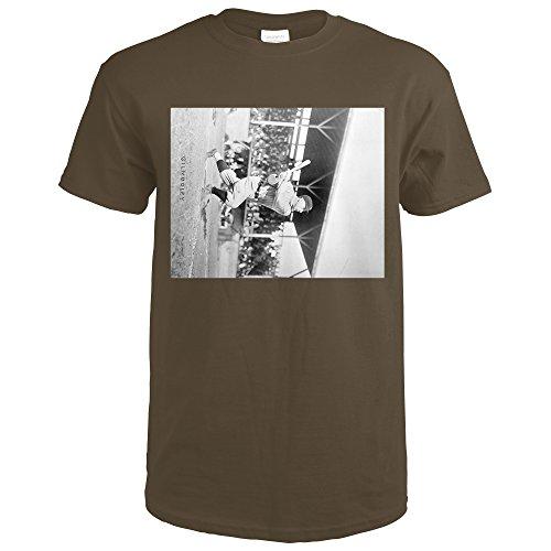 Frank Gilhooley, NY Yankees, Baseball Photo (Swart Chocolate T-Shirt XX-Large)