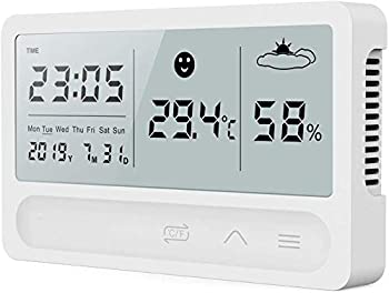 Xvseses Indoor Room Digital Hygrometer Thermometer