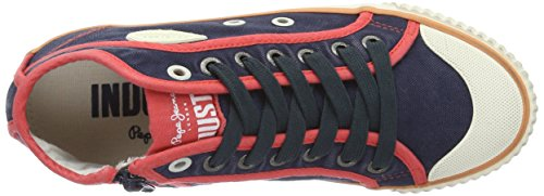 Industry Mujer Azul Basic Jeans Pepe London 17 para Zapatillas SAILOR EqPWf