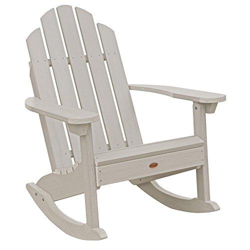 (Highwood AD-ROCCW30-WAE Westport Rocking Chair, One Size, Whitewash)