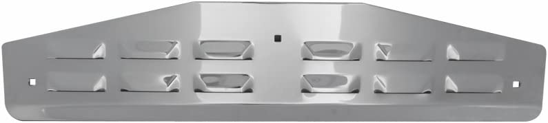 GG Grand General 30320 14 X 4 Inches Chrome Louver Bottom Plate Without Backing Plate