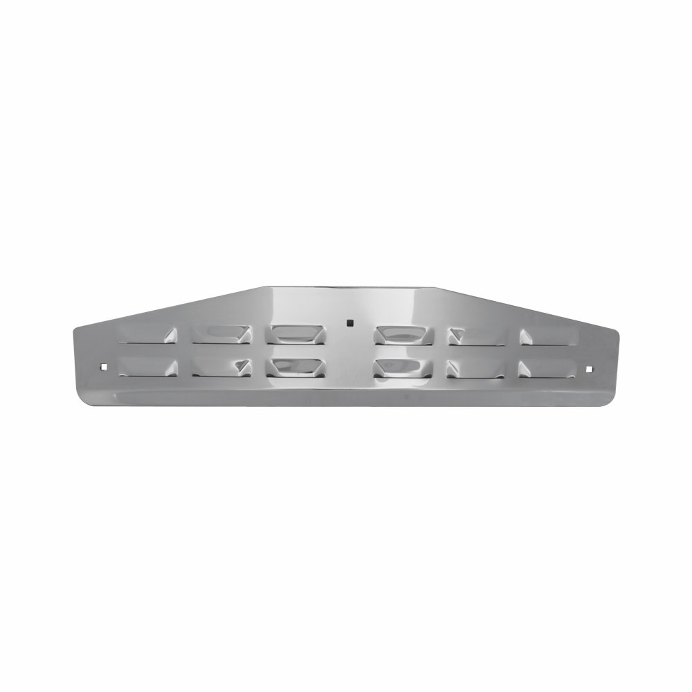 Grand General 30048 Chrome 24 x 4 Mud Flap Bottom Plate with 3 Stud
