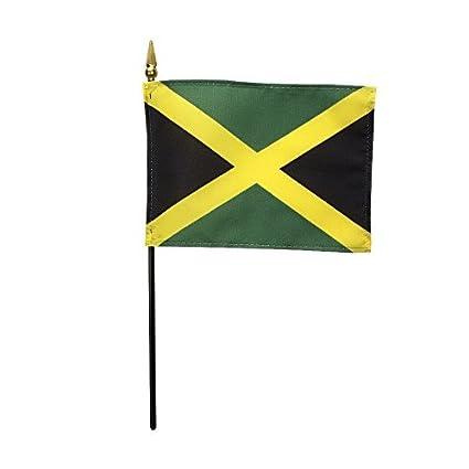 Jamaica Polyester Table Desk Flag